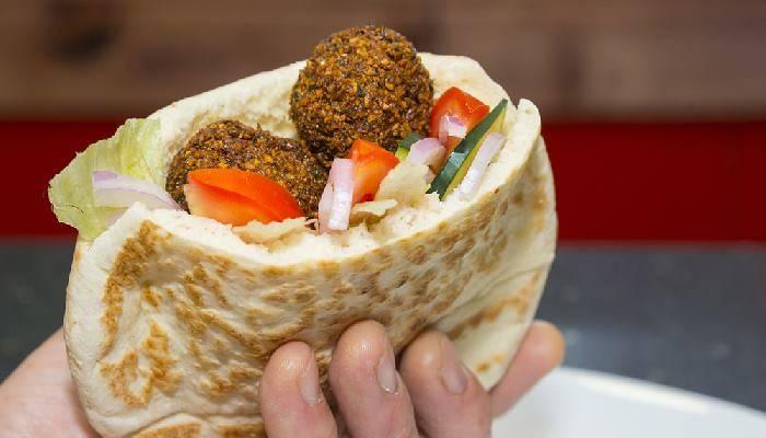 falafel pitta
